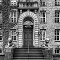 Princeton University Nassau Hall Bw by Susan Candelario