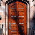 Princeton University Wood Door  by Olivier Le Queinec