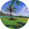Princeville Palm by Kenneth Grzesik