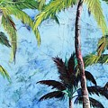 Princeville Palms  by Kristen Abrahamson