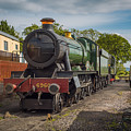 Print Of Gwr 6960 'raveningham Hall, Sits At Bishops Lydeard On  by Daily Rail