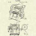 Printing Press Gordon 1859 Patent Art by Prior Art Design