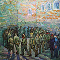 Prisoners Exercising Van Gogh 1890 by Vincent Van Gogh