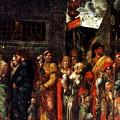 Prisonnniers 1506 by Mantegna Andrea