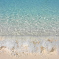 Pristine Beach At Half Moon Cay by Margaret Bobb