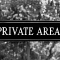 Private Area Sign by Tianxin Zheng