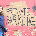Private Parking. by Oscar Williams