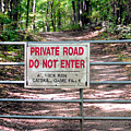 Private Road Do Not Enter by Jeelan Clark
