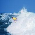 Pro Surfer Chris Ward - 2 by Scott Cameron