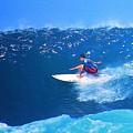 Pro Surfer Ezekiel Lau-3 by Scott Cameron