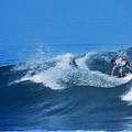Pro Surfer Gabe King - 2 by Scott Cameron