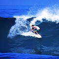 Pro Surfer Gabe King - 3 by Scott Cameron