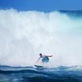 Pro Surfer Gabe King -6 by Scott Cameron