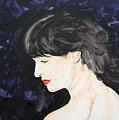 Profile In Purple by Monika Degan