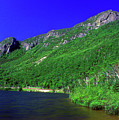 Profile Lake Franconia Notch by John Burk