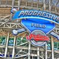 Progressive Field by David Bearden