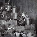 Prohibition Confiscated Stills  1920's by Daniel Hagerman