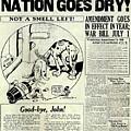 Prohibition Nation Goes Dry by Jon Neidert