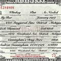 Prohibition Prescription Certificate My Bar, by David Patterson