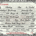 Prohibition Prescription Certificate Speakeasy by David Patterson