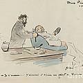 Project De Voyage by Jean-louis Forain
