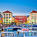 Prokurative Square In Split Evening Colorful View by Brch Photography