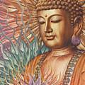Proliferation Of Peace - Buddha Art By Christopher Beikmann by Christopher Beikmann
