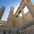 Propyalia At Acropolis by S Paul Sahm