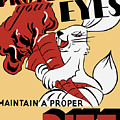 Protect Your Eyes - Maintain A Proper Diet by War Is Hell Store