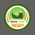 Proud To Be Irish by Frederick Holiday