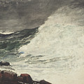 Prouts Neck Breaking Wave by Winslow Homer