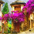 Provence Street by Michael Shifflett