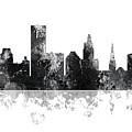 Providence Rhode Island Skyline by Marlene Watson