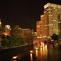 Providence Waterfire by Eddy Bernardo