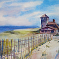 Provincetown Ocean View by Joyce Kanyuk