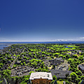 Provincetown Panoramic Aerial by Dapixara Art