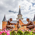 Provo City Center Temple Family by David Millenheft
