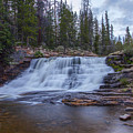 Provo River Falls by Spencer Baugh