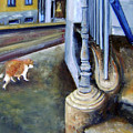 Prowling Cat by Leonardo Ruggieri