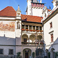 Pruhonice Castle Architecture by Jenny Rainbow