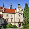 Pruhonice Castle  by Jenny Rainbow