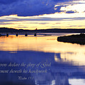 Psalm Reflected At Acadia National Park Two by Katie W