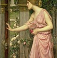 Psyche entering Cupid's Garden by John William Waterhouse