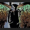 Psychedelic Angel by Ryan Fox