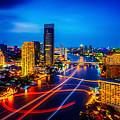 Psychedelic Bangkok Thailand by Ron Fleishman