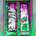 Psychedelic Door by Madeline Ellis