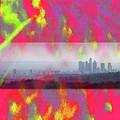psychedelic energy of Los Angeles by Viktor Savchenko