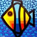 Psychedelic Fish by John  Nolan
