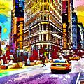 Psychedelic Flatiron Surroundings by Ron Fleishman