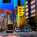 Psychedelic Tokyo by Ron Fleishman